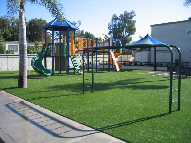 Synthetic Turf Playground Installation San Diego, Artificial Grass Playground Company