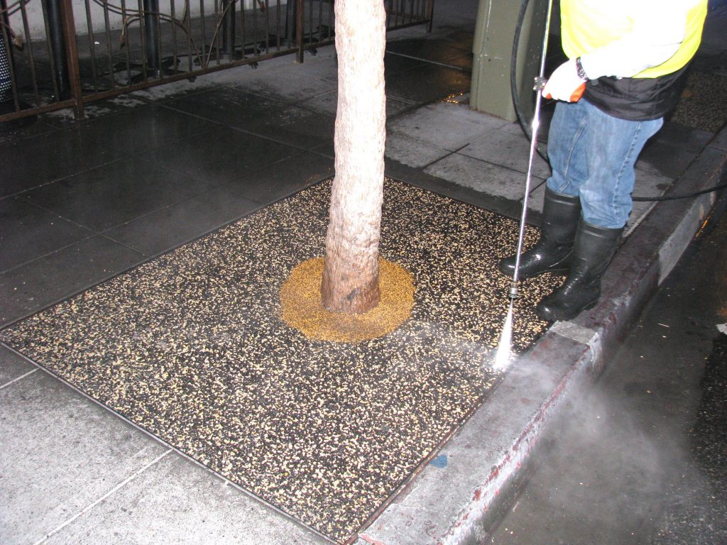 Tree Well Maintenance Service San Diego, Porous Tree Well Install San Diego